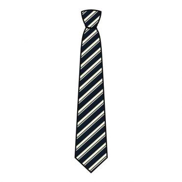 GMA UNISEX CLIP-ON/FULL TIE NAVY