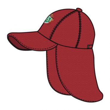 JPS UNISEX LEGIONNAIRE CAP RED
