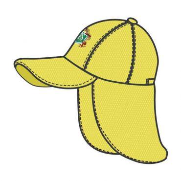 JPS UNISEX LEGIONNAIRE CAP YELLOW