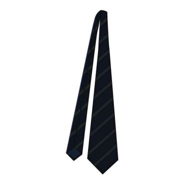 WSO BOYS FULL TIE GR 7-13 BLACK