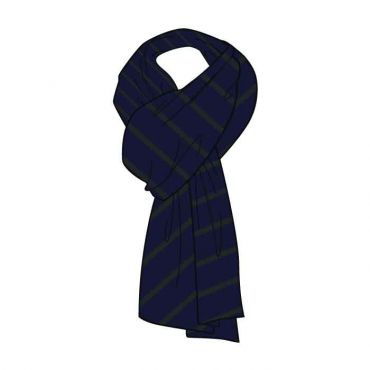 WSO GIRLS SCARVES GR 7-13 BLACK