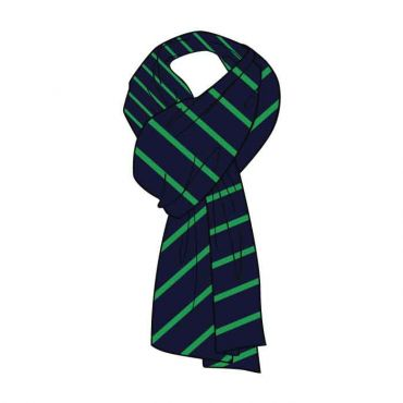 WSO GIRLS SCARVES GR 7-13 GREEN