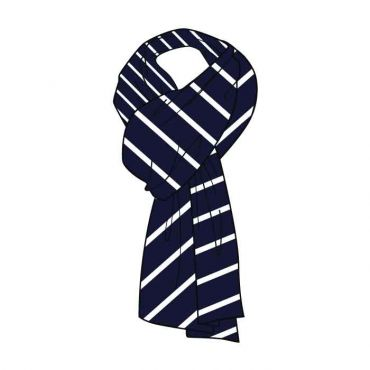 WSO GIRLS SCARVES GR 7-13 WHITE