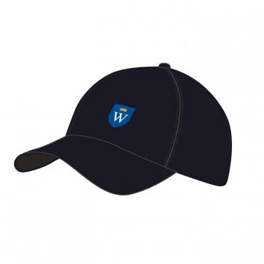WEL BASEBALL CAP BLACK