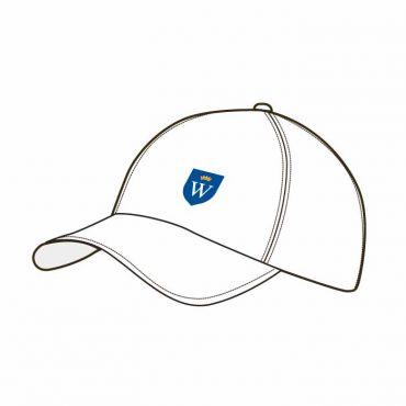 WEL BASEBALL CAP WHITE
