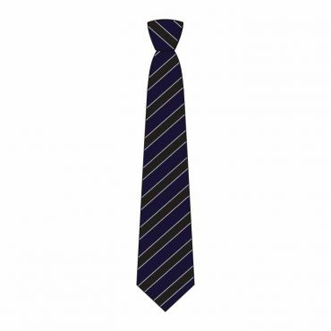 WEL BOYS FULL TIE GR 7-13 BLACK