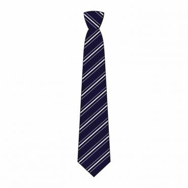 WEL BOYS FULL TIE GR 7-13 WHITE