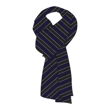 WEL GIRLS SCARVES GR 7-13 BLACK