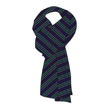 WEL GIRLS SCARVES GR 7-13 GREEN