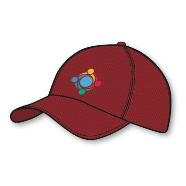 GWA BASEBALL CAP RED