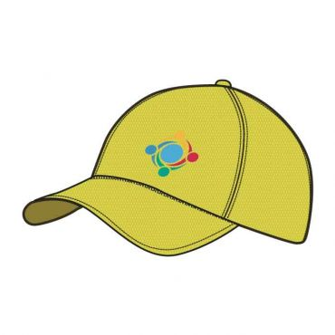 GWA BASEBALL CAP YELLOW