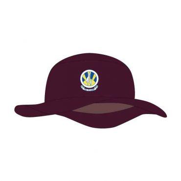 CSI UNISEX MAROON BUCKET CAP