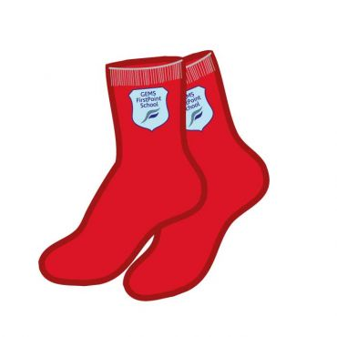 FPS SILICON SOCKS RED 5 PACK
