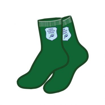 FPS SILICON SOCKS GREEN 5 PACK