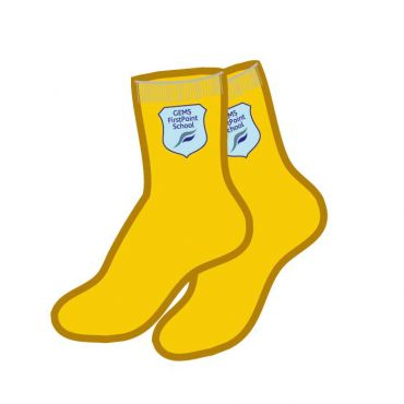 FPS SILICON SOCKS YELLOW 5 PACK