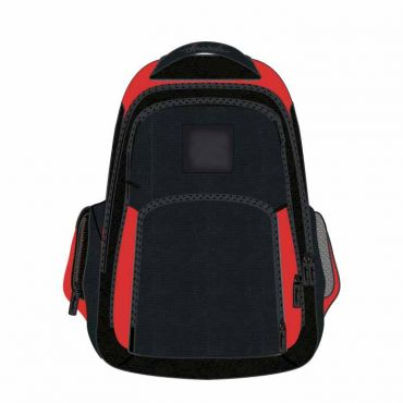 SCHOOL BAG 18 INCH RED