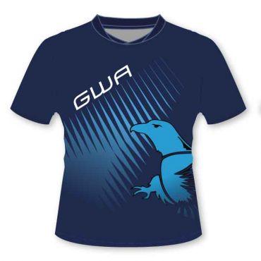 GWA BOYS SBLM PE POLO NAVY/BLUE