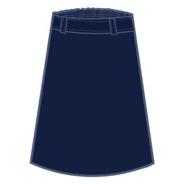 SST GIRLS LONG SKIRT NAVY GR 1-12