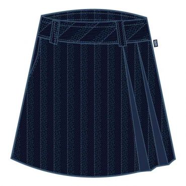 SST GIRLS KNEE SKIRT NAVY GR 1-12