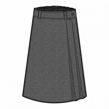 CAM LONG SKIRT GREY