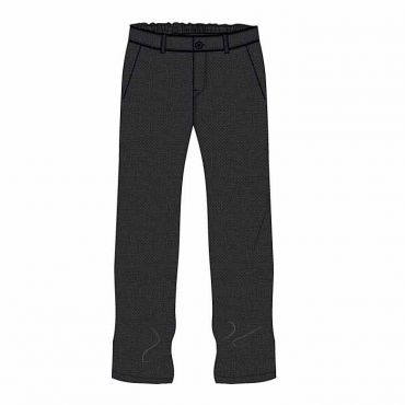 SDQ BOYS DARK GREY TROUSER