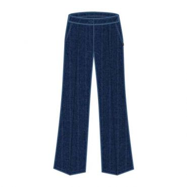 COM PS NAVY GIRLS TROUSERS