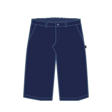 AKNS BOYS SHORTS GR1-8 NAVY
