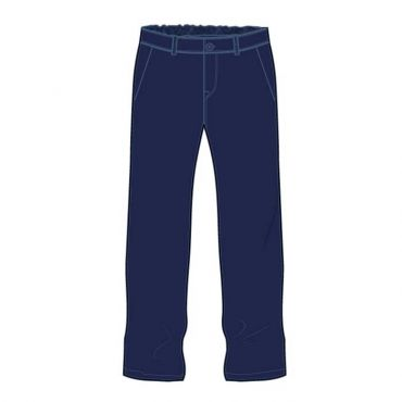 AKNS GIRLS TROUSER NAVY KG1-12