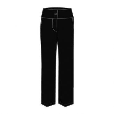JCD GIRLS TROUSER BLACK GR 12-13