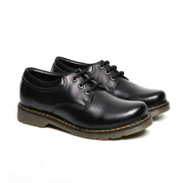 UNISEX BLACK DONATELLO LACEUP SHOE DM