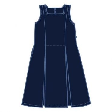 GMA GIRLS NAVY PINAFORE