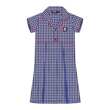 FND GIRLS KG-GR2 DRESS STRIPED