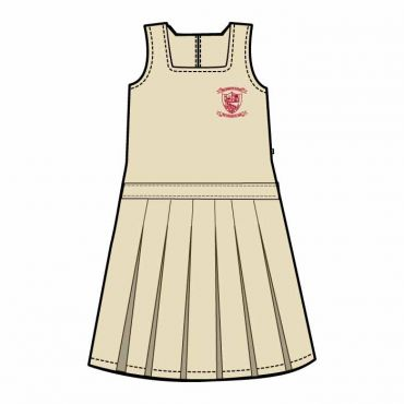 NMS PINAFORE PLEATED CREAM