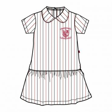 NMS STRIPED FROCK SET