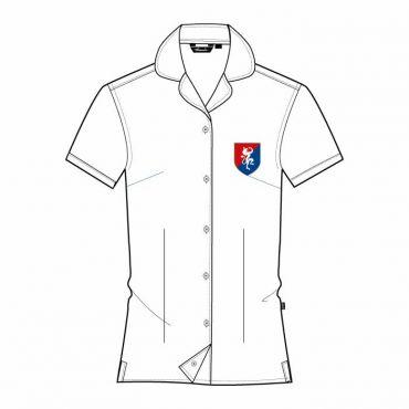 FND SS BLOUSE GR 12-13 WHITE