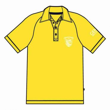 OOE UNISEX PE POLO YELLOW