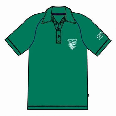 OOE UNISEX PE POLO GREEN