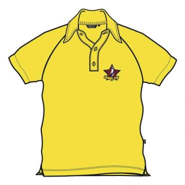 SST UNISEX PE POLO YELLOW