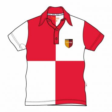 CAM UNISEX PE POLO RED