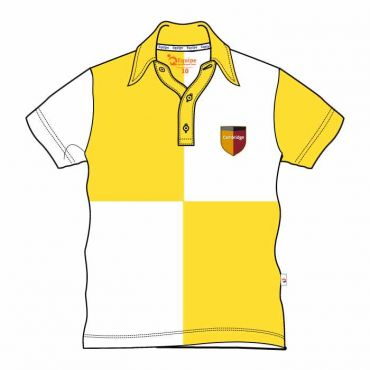 CAM UNISEX PE POLO YELLOW