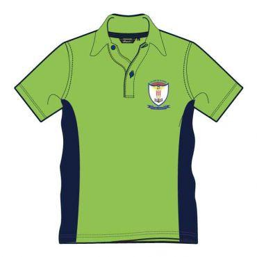 GRM UNISEX PE T-SHIRT GR 10-13 GREEN