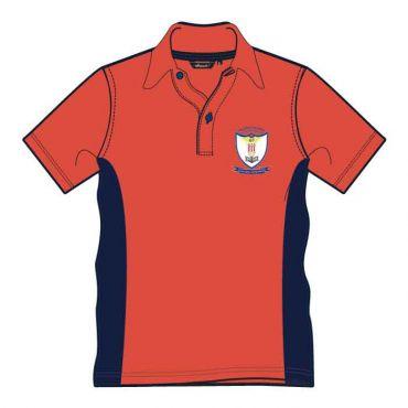 GRM UNISEX PE T-SHIRT GR 7-9 RED