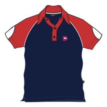 RDS UNISEX PE POLO RED