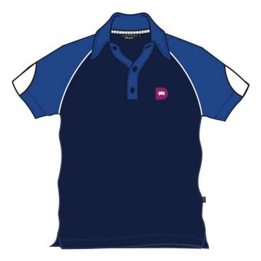 RDS UNISEX PE POLO BLUE