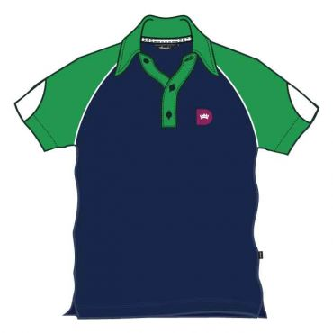 RDS UNISEX PE POLO GREEN