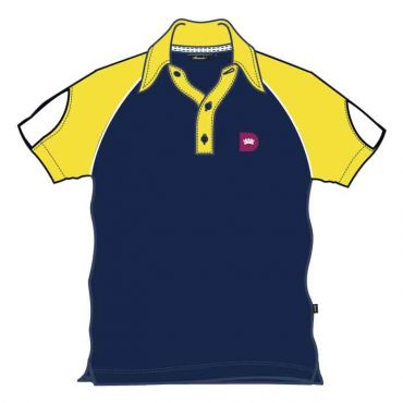 RDS UNISEX PE POLO YELLOW