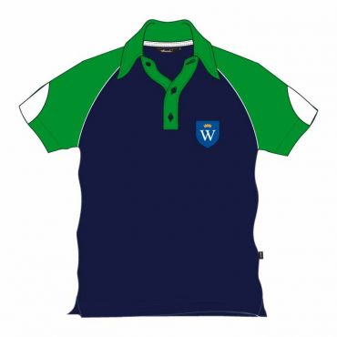WEL UNISEX PE POLO GREEN