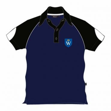 WEL UNISEX PE POLO BLACK