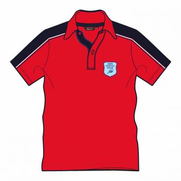 FPS UNISEX PE POLO RED