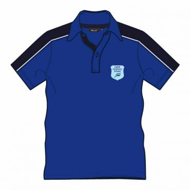 FPS UNISEX PE POLO BLUE